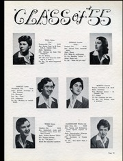 Page 15, 1955 Edition, Alma College - Almafilian Yearbook (St Thomas, Ontario Canada) online yearbook collection