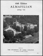 Page 3, 1955 Edition, Alma College - Almafilian Yearbook (St Thomas, Ontario Canada) online yearbook collection