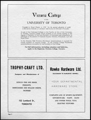 Page 4, 1955 Edition, Alma College - Almafilian Yearbook (St Thomas, Ontario Canada) online yearbook collection