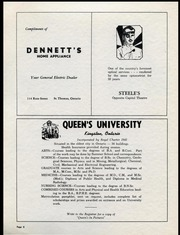 Page 8, 1955 Edition, Alma College - Almafilian Yearbook (St Thomas, Ontario Canada) online yearbook collection