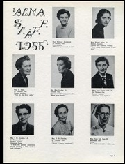 Page 9, 1955 Edition, Alma College - Almafilian Yearbook (St Thomas, Ontario Canada) online yearbook collection