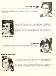 Page 17, 1972 Edition, Appleby College - Argus Yearbook (Oakville, Ontario Canada) online yearbook collection