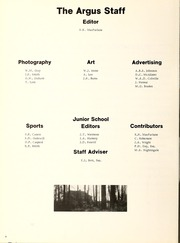 Page 8, 1972 Edition, Appleby College - Argus Yearbook (Oakville, Ontario Canada) online yearbook collection