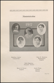 Page 16, 1917 Edition, Wausau High School - Wahiscan Yearbook (Wausau, WI) online yearbook collection