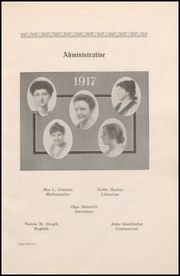 Page 17, 1917 Edition, Wausau High School - Wahiscan Yearbook (Wausau, WI) online yearbook collection