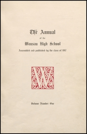 Page 5, 1917 Edition, Wausau High School - Wahiscan Yearbook (Wausau, WI) online yearbook collection