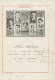 Page 15, 1923 Edition, Wausau High School - Wahiscan Yearbook (Wausau, WI) online yearbook collection
