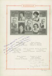 Page 16, 1923 Edition, Wausau High School - Wahiscan Yearbook (Wausau, WI) online yearbook collection