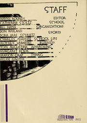 Page 10, 1935 Edition, Wausau High School - Wahiscan Yearbook (Wausau, WI) online yearbook collection