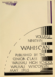 Page 5, 1935 Edition, Wausau High School - Wahiscan Yearbook (Wausau, WI) online yearbook collection