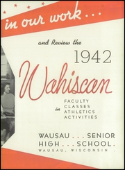 Page 9, 1942 Edition, Wausau High School - Wahiscan Yearbook (Wausau, WI) online yearbook collection