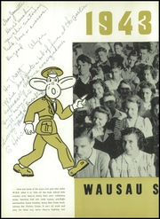 Page 10, 1943 Edition, Wausau High School - Wahiscan Yearbook (Wausau, WI) online yearbook collection