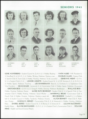 Page 77, 1945 Edition, Wausau High School - Wahiscan Yearbook (Wausau, WI) online yearbook collection