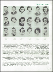 Page 83, 1945 Edition, Wausau High School - Wahiscan Yearbook (Wausau, WI) online yearbook collection