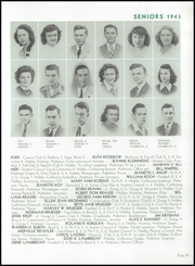 Page 85, 1945 Edition, Wausau High School - Wahiscan Yearbook (Wausau, WI) online yearbook collection