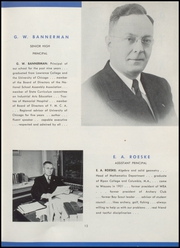 Page 17, 1946 Edition, Wausau High School - Wahiscan Yearbook (Wausau, WI) online yearbook collection