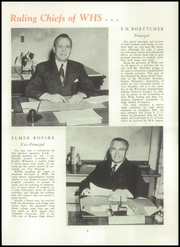 Page 13, 1950 Edition, Wausau High School - Wahiscan Yearbook (Wausau, WI) online yearbook collection