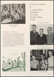 Page 17, 1955 Edition, Wausau High School - Wahiscan Yearbook (Wausau, WI) online yearbook collection