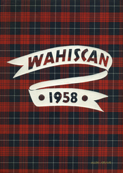 1958 Edition, Wausau High School - Wahiscan Yearbook (Wausau, WI)
