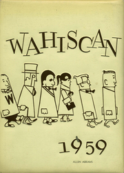1959 Edition, Wausau High School - Wahiscan Yearbook (Wausau, WI)