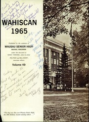 Page 5, 1965 Edition, Wausau High School - Wahiscan Yearbook (Wausau, WI) online yearbook collection