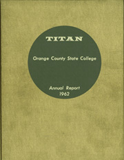 Cal State Fullerton - Titan Yearbook (Fullerton, CA) online yearbook collection, 1962 Edition, Page 1