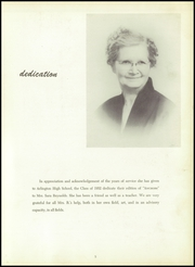 Page 9, 1952 Edition, Arlington High School - Anchors Yearbook (Lagrangeville, NY) online yearbook collection
