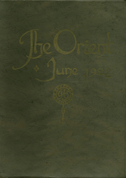 Page 1, 1922 Edition, East High School - Orient Yearbook (Rochester, NY) online yearbook collection
