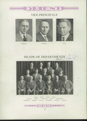 Page 16, 1930 Edition, East High School - Orient Yearbook (Rochester, NY) online yearbook collection