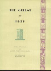 Page 9, 1930 Edition, East High School - Orient Yearbook (Rochester, NY) online yearbook collection