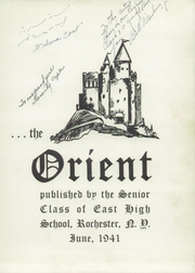 Page 5, 1941 Edition, East High School - Orient Yearbook (Rochester, NY) online yearbook collection