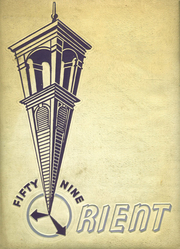 1959 Edition, East High School - Orient Yearbook (Rochester, NY)