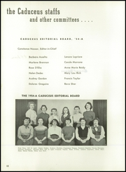 Page 16, 1954 Edition, Worcester High School of Commerce - Caduceus Yearbook (Worcester, MA) online yearbook collection