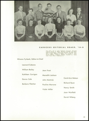 Page 17, 1954 Edition, Worcester High School of Commerce - Caduceus Yearbook (Worcester, MA) online yearbook collection