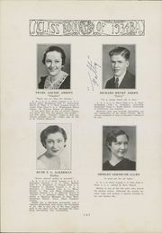 Page 20, 1934 Edition, Bulkeley High School - Class Yearbook (Hartford, CT) online yearbook collection