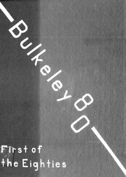 Bulkeley High School - Class Yearbook (Hartford, CT) online yearbook collection, 1980 Edition, Page 1