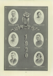 Page 15, 1920 Edition, Compton High School - El Companile Yearbook (Compton, CA) online yearbook collection