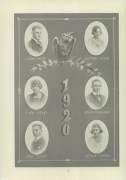 Page 16, 1920 Edition, Compton High School - El Companile Yearbook (Compton, CA) online yearbook collection
