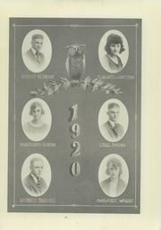 Page 17, 1920 Edition, Compton High School - El Companile Yearbook (Compton, CA) online yearbook collection