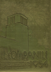 Compton High School - El Companile Yearbook (Compton, CA) online yearbook collection, 1954 Edition, Page 1