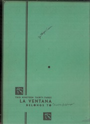 Page 2, 1933 Edition, Texas Tech University - La Ventana Yearbook (Lubbock, TX) online yearbook collection