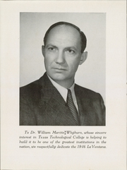 Page 10, 1946 Edition, Texas Tech University - La Ventana Yearbook (Lubbock, TX) online yearbook collection