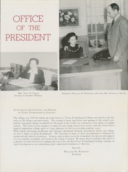 Page 17, 1946 Edition, Texas Tech University - La Ventana Yearbook (Lubbock, TX) online yearbook collection