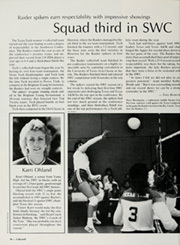 Page 102, 1985 Edition, Texas Tech University - La Ventana Yearbook (Lubbock, TX) online yearbook collection