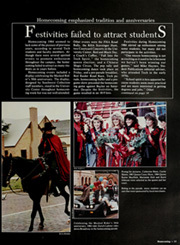 Page 17, 1985 Edition, Texas Tech University - La Ventana Yearbook (Lubbock, TX) online yearbook collection
