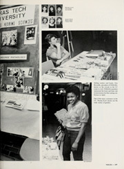 Page 253, 1985 Edition, Texas Tech University - La Ventana Yearbook (Lubbock, TX) online yearbook collection