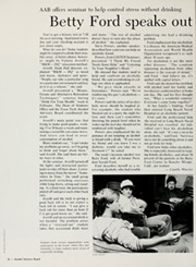 Page 30, 1985 Edition, Texas Tech University - La Ventana Yearbook (Lubbock, TX) online yearbook collection