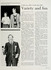 Page 31, 1985 Edition, Texas Tech University - La Ventana Yearbook (Lubbock, TX) online yearbook collection