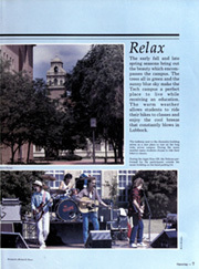 Page 11, 1986 Edition, Texas Tech University - La Ventana Yearbook (Lubbock, TX) online yearbook collection