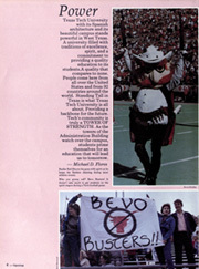 Page 8, 1986 Edition, Texas Tech University - La Ventana Yearbook (Lubbock, TX) online yearbook collection